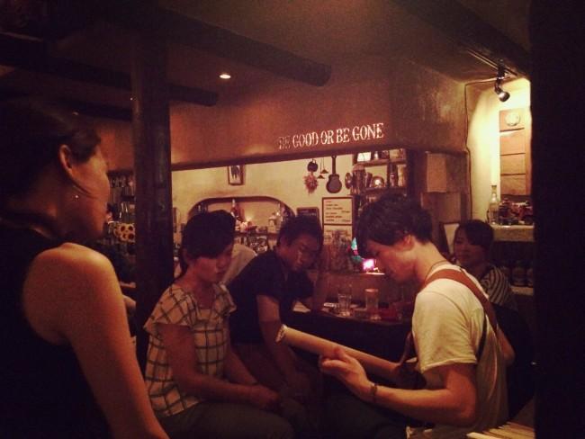 bar picnic 中川 オシャレ バー 永井義朗