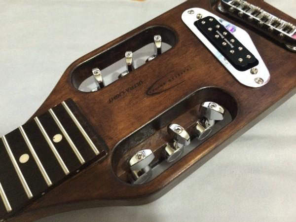 トラベラーギター,改造,塗装