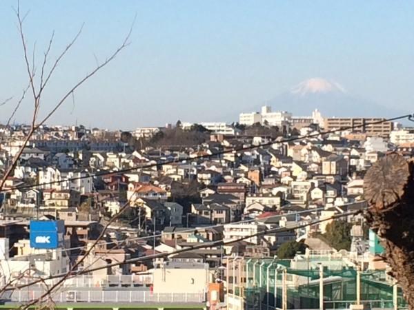 上大岡,富士山