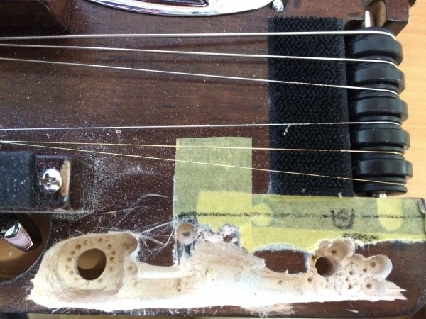 トラベラーギター,改造,
