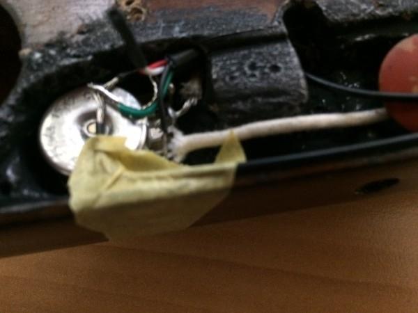 トラベラーギター,改造,sonic,導電塗料