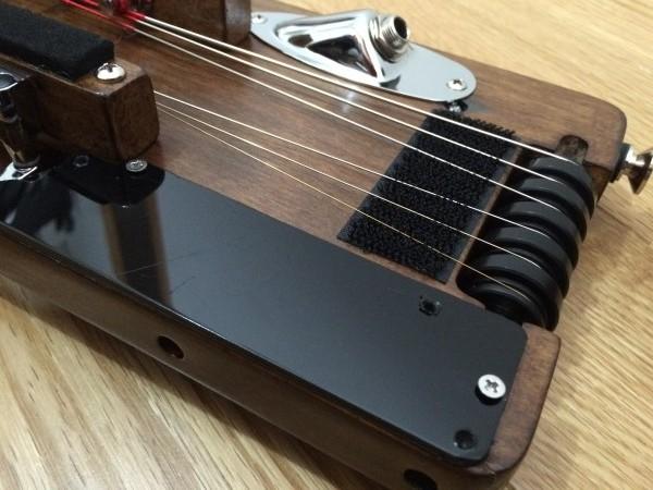 トラベラーギター,改造,バックパネル,自作