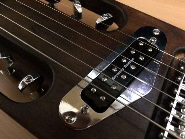 トラベラーギター,改造,塗装,Seymour Duncan,Little59