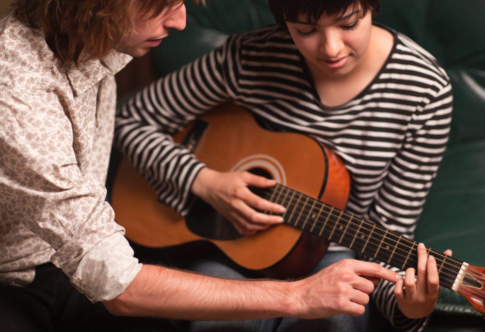 ギター,練習,ジャズギター