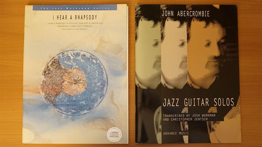 John-Abercrombie,教材,レッスン,ジャズギター,コピー,transcribe