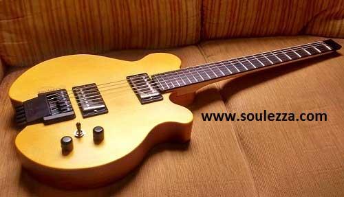 soulezza,ヘッドレスギター