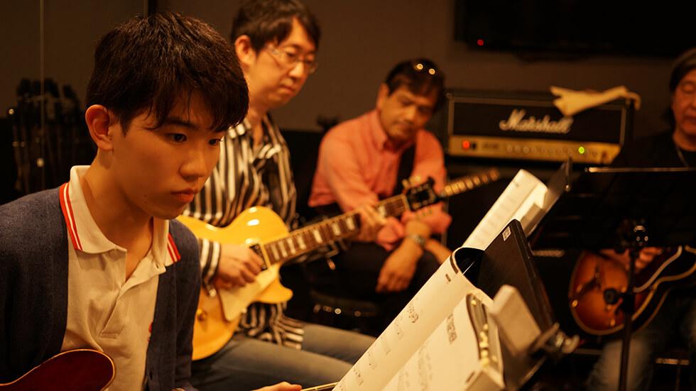 永井義朗,ギター教室,武蔵小杉,セッション,ジャズギター