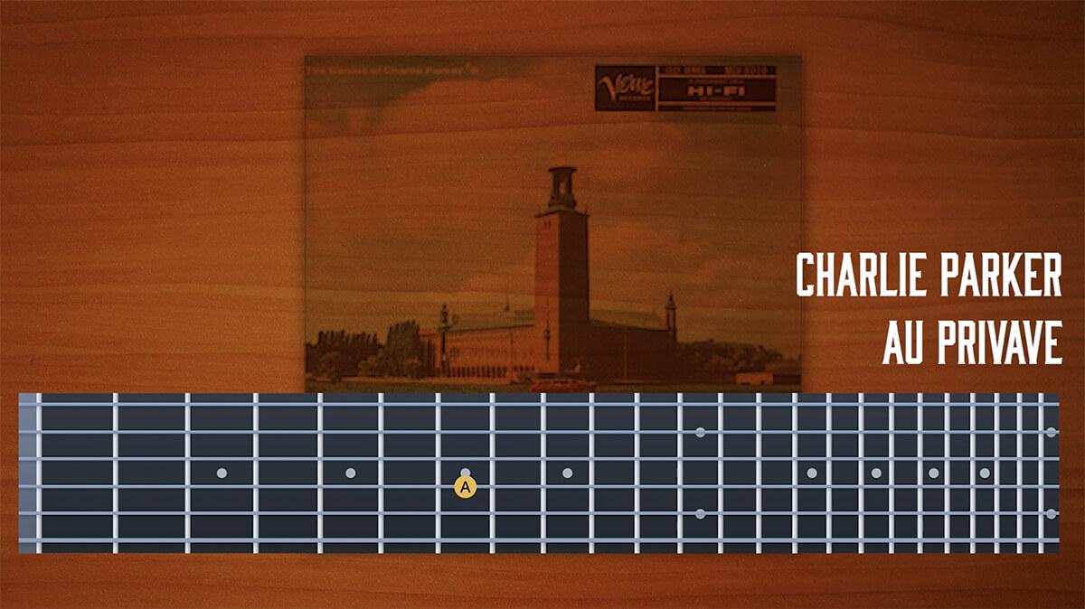 chrlie-parker,チャーリーパーカー,ギター,コピー