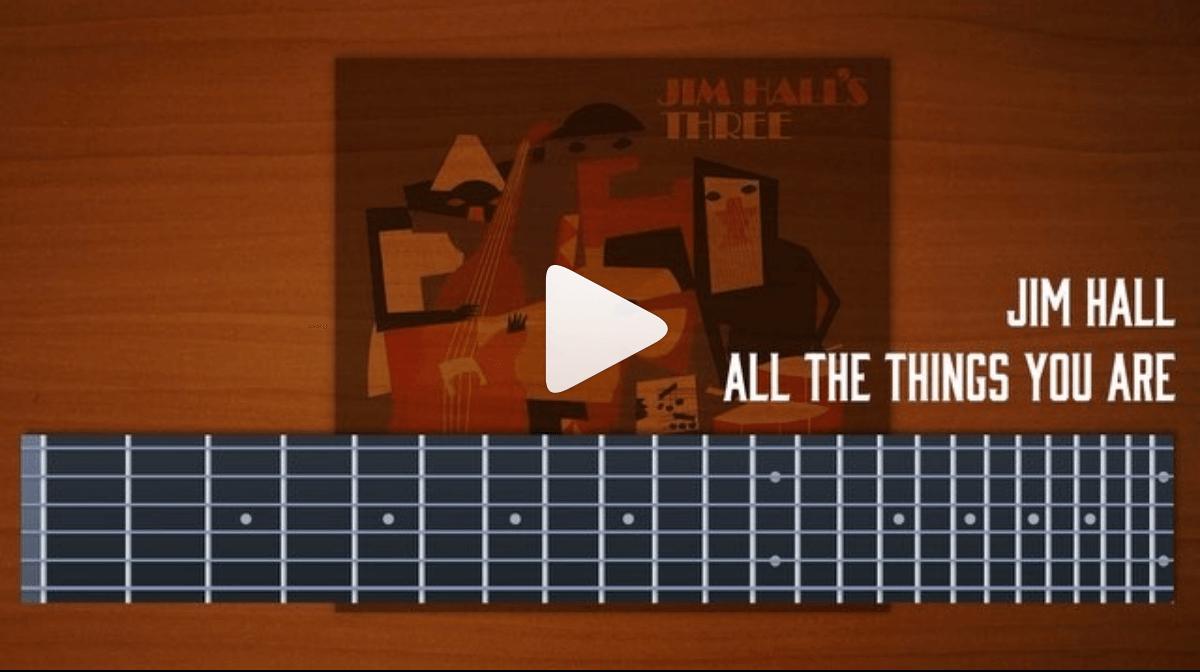 jim-hall,three,ジムホール,コピー,譜面,ジャズギター
