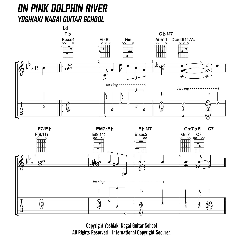 On-Green-Dolpine-Street,ジャズギター,ソロ,コンテンポラリー,コード