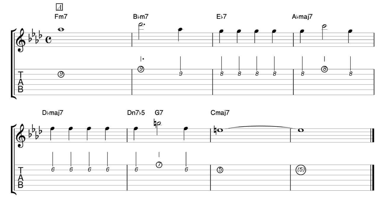 ジャズ,曲,スタンダード,覚え方,練習法,ギター,