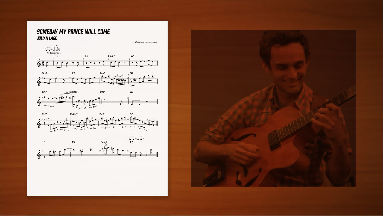 Julian-Lage,transcription,耳コピー,ジャズギター