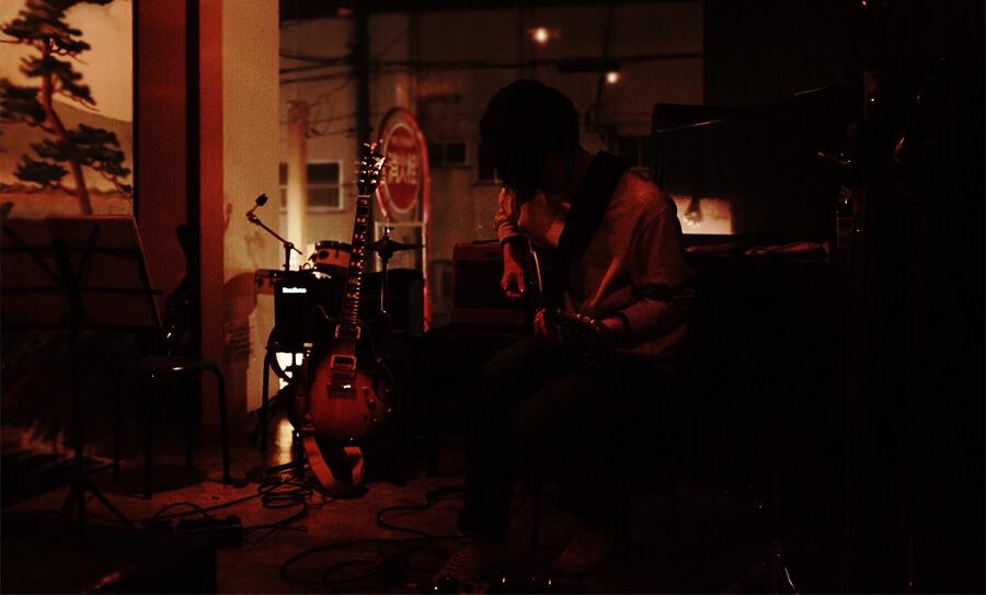 永井義朗,ジャズギター,ライブ,bar-nasa