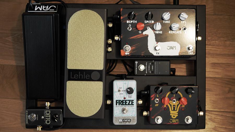 エフェクター,ジャズギター,freeze,jampedals