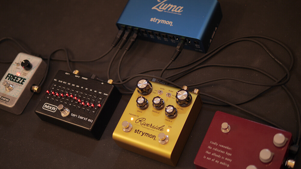 Strymon,Timeline,riverside,ジャズギター,game-cahnger-audio