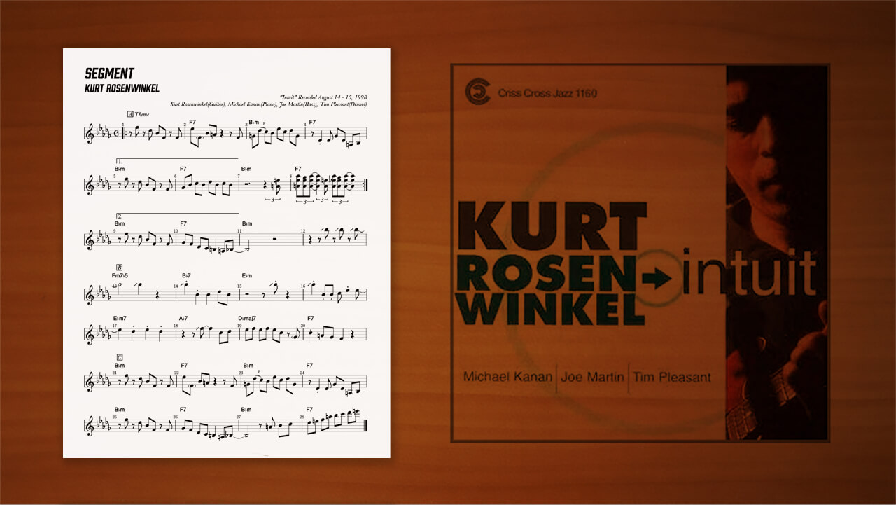 Kurt-Rosenwinkel,カートローゼンウィンケル,コピー,アドリブ