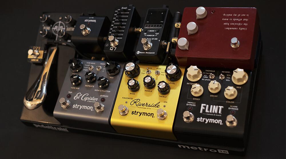 Strymon,エフェクター,ジャズギター,fぃんt